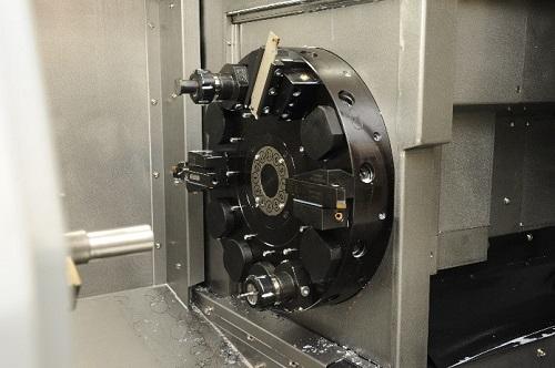 Lathe tooling head - CNC turning